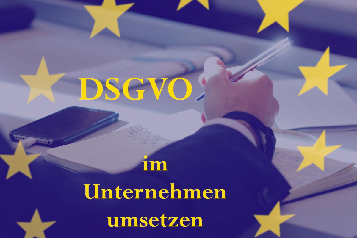 DSGVO im Unternehmen