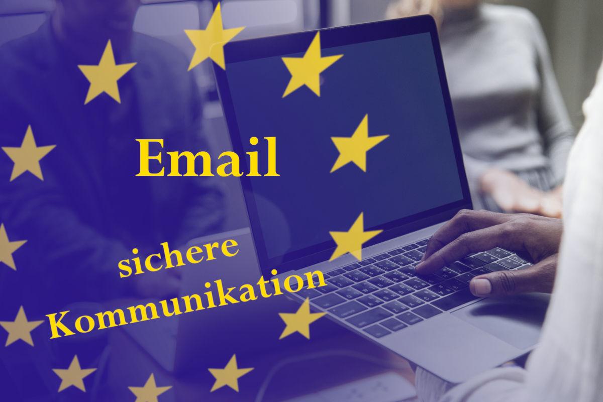 Sichere Kommunikation mit Emails